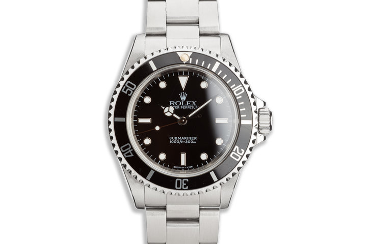 1998 Rolex Submariner 14060 with Box and Papers photo
