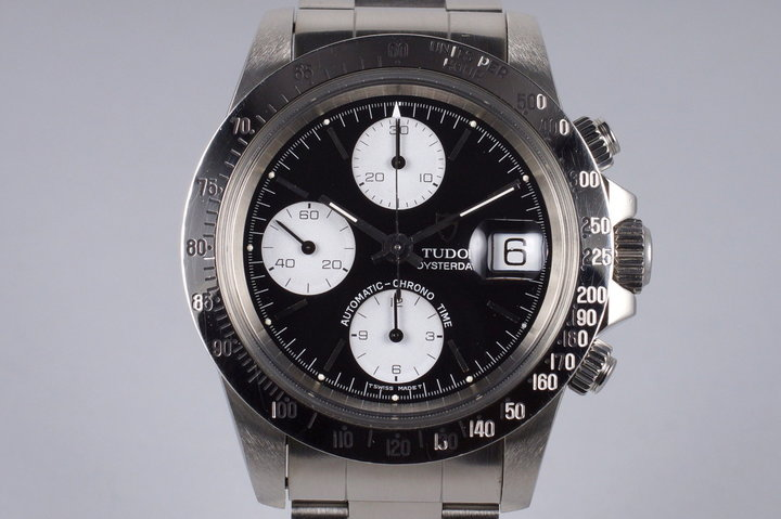 1993 Tudor Chronograph Big Block 79180 Black Dial photo