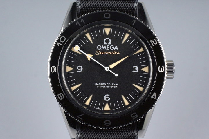 2015 Omega Seamaster 300 Lim. Ed. James Bond Spectre Ref: 233.32.41.21.01.001 with Box and Papers photo