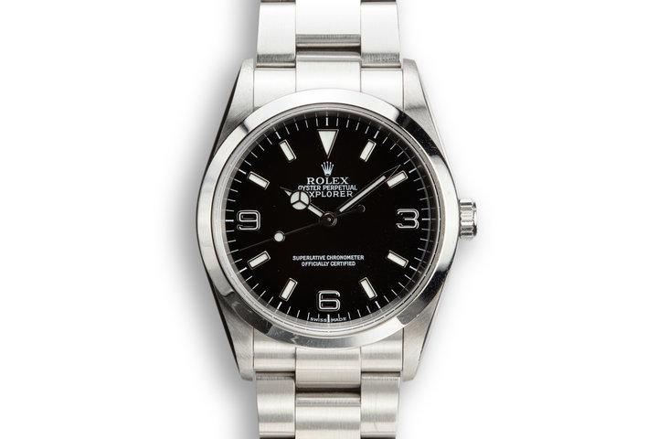 2003 Rolex Explorer I 114270 photo
