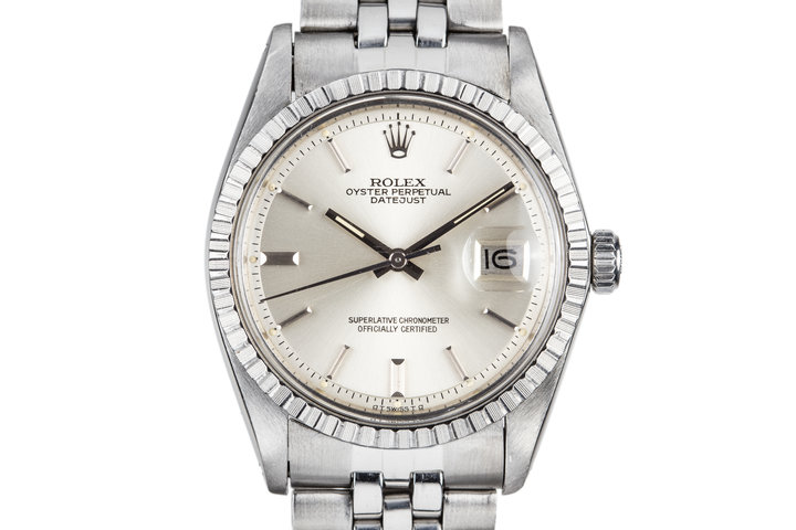 1973 Rolex DateJust 1603 Silver Dial photo