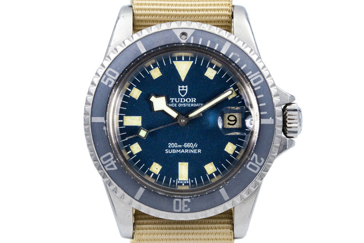 "1968 Tudor Submariner 7021/0 Blue Snowflake Dial with ""Ghost"" Insert photo"
