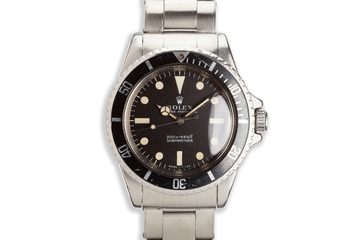 1969 Rolex Submariner 5513 Meters First Dial photo