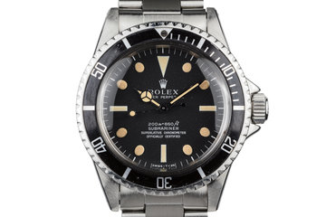 1967 Rolex Submariner 5512 Meters First Dial photo