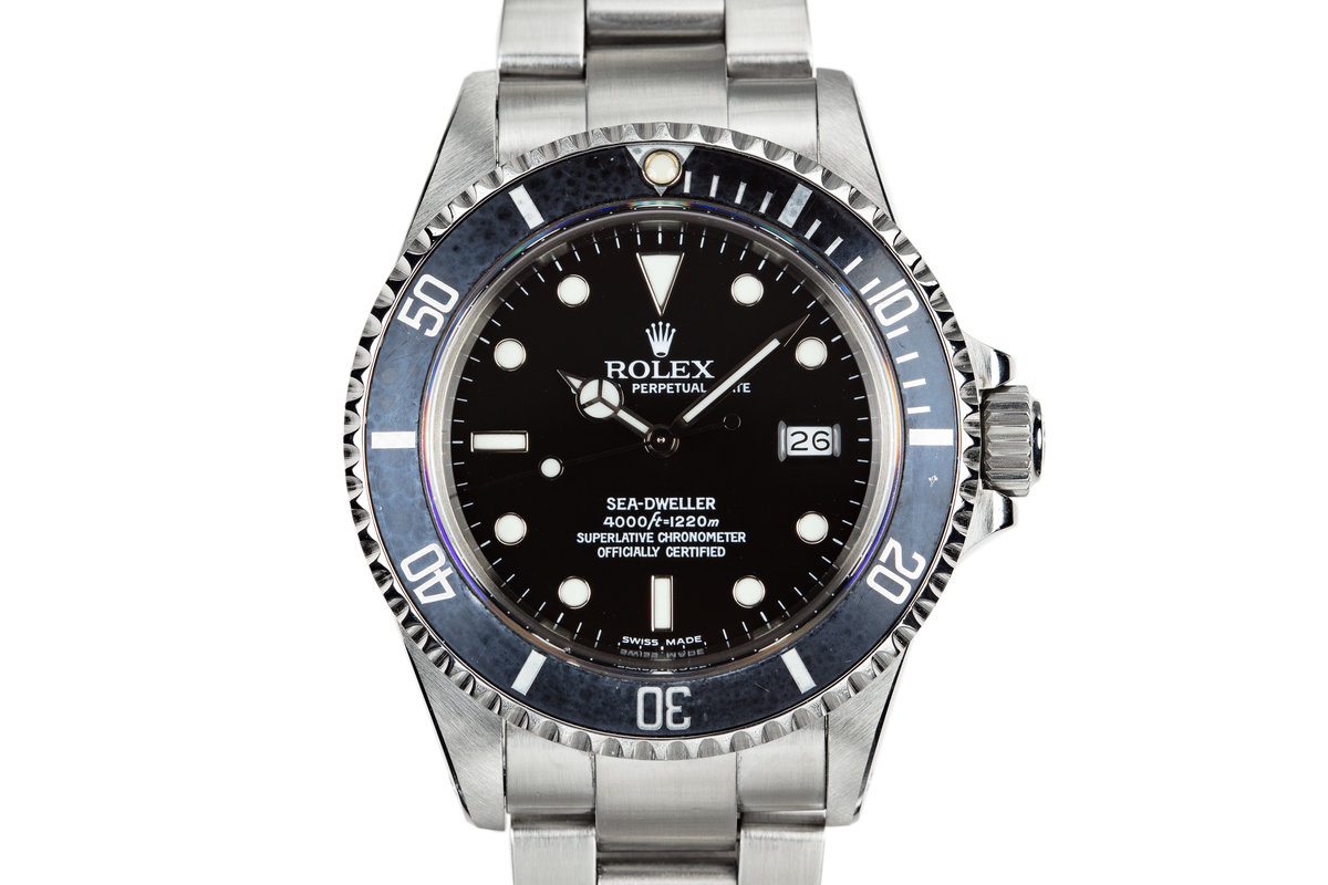 1986 Rolex Sea-Dweller 16660 with Service Dial photo, #0