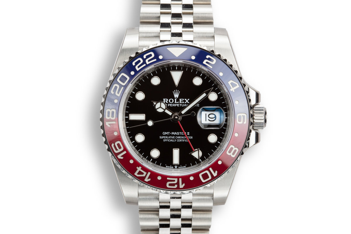 2019 Rolex GMT-Master II 126710 BLRO with Box and Papers photo, #0