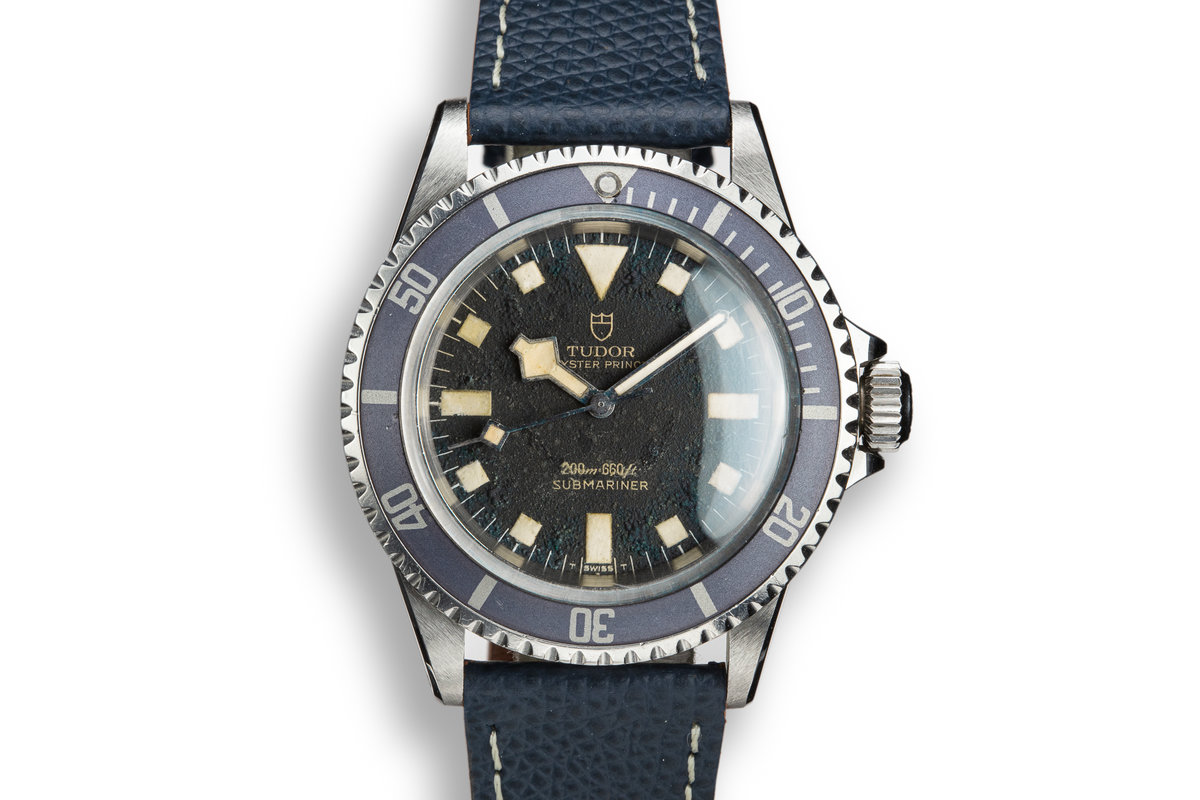 1974 Tudor Snowflake Submariner 7016/0 Blue Dial photo, #0
