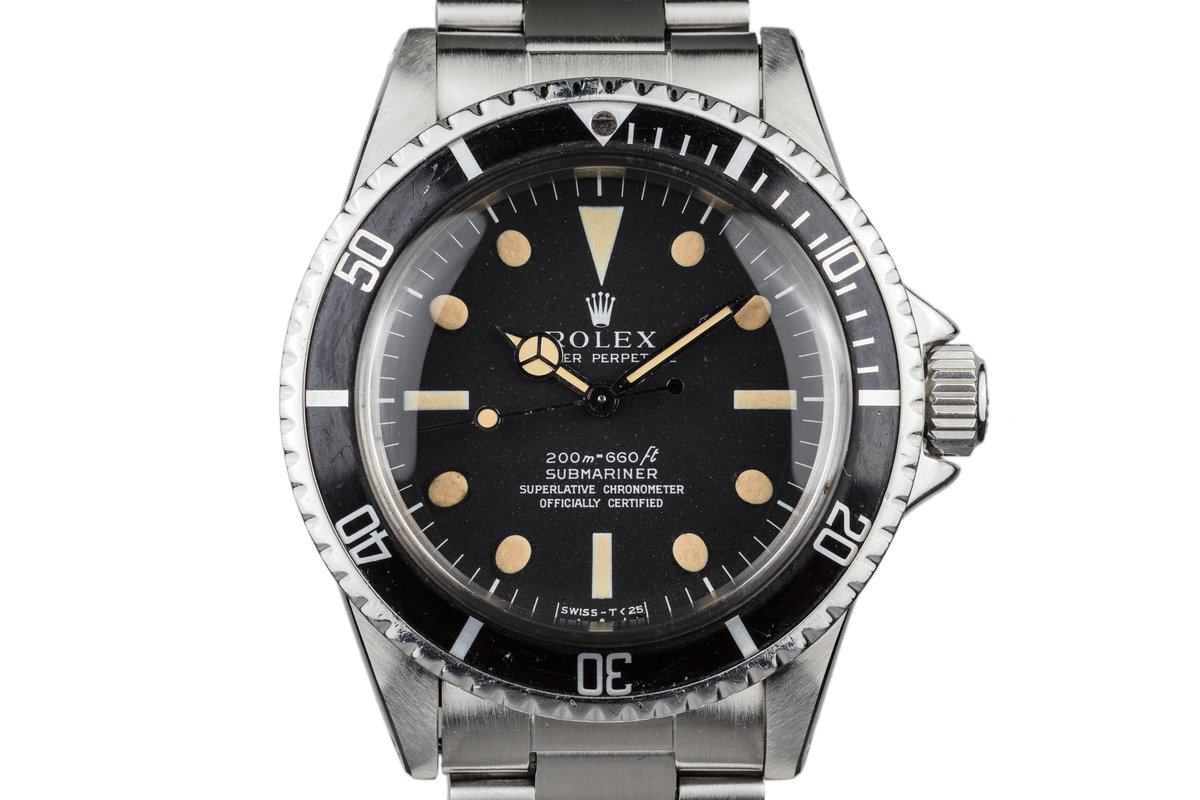 1967 Rolex Submariner 5512 Meters First Dial photo, #0