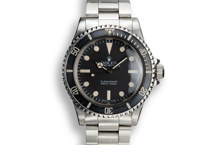 1984 Rolex Submariner 5513 with MK V Maxi Dial photo
