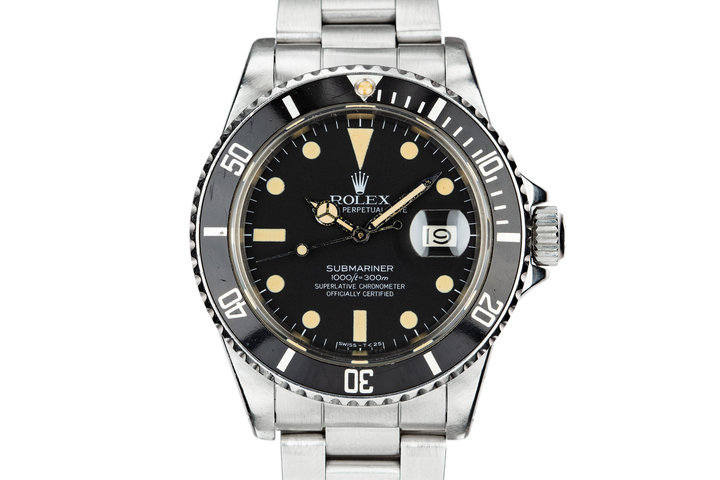1980 Rolex Submariner 16800 photo