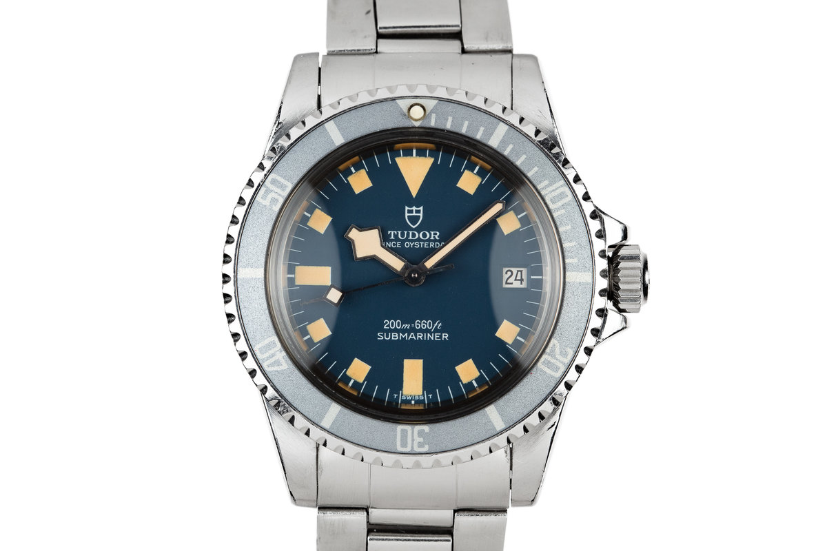 1981 Tudor Snowflake Submariner 94110 Blue Dial photo, #0