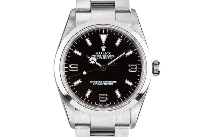 2002 Rolex Explorer 114270 with Hang Tags photo