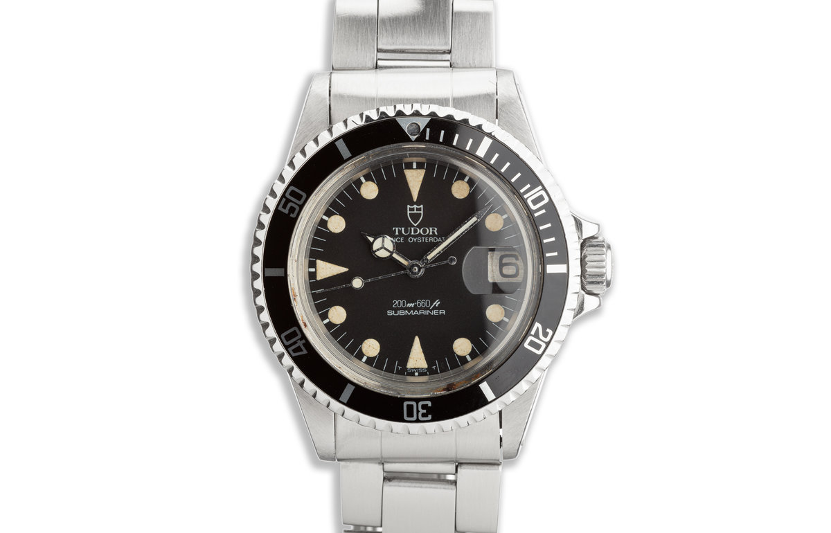 1971 Tudor OysterDate Submariner 76100 Matte Dial photo, #0