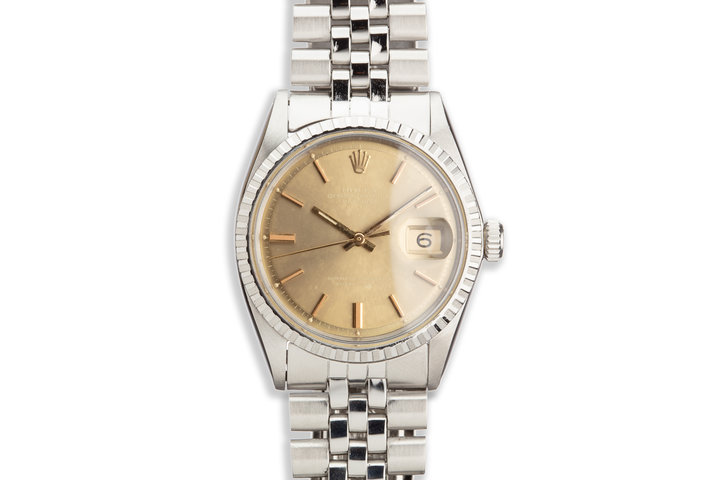 1971 Vintage Rolex DateJust 1603 Brown Dial photo