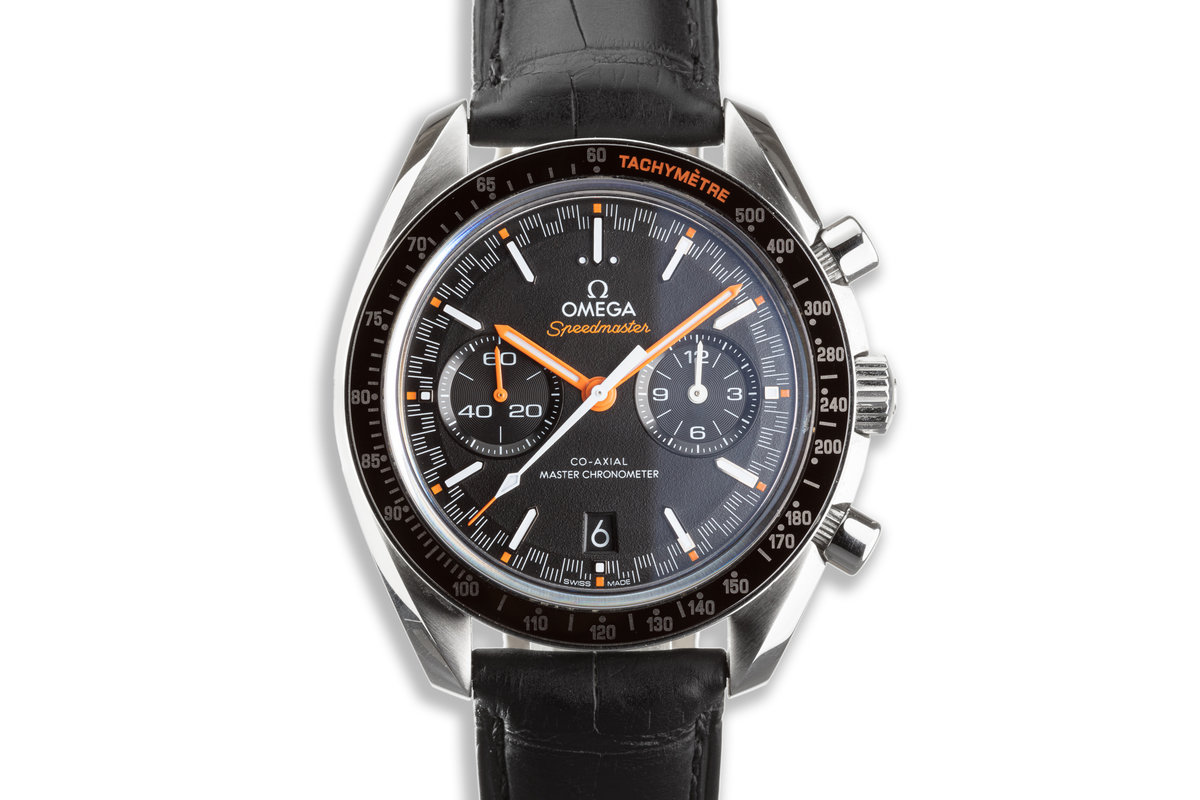 2021 Omega Speedmaster 329.32.44.51.01.001 Co-Axial with Box & Card photo, #0