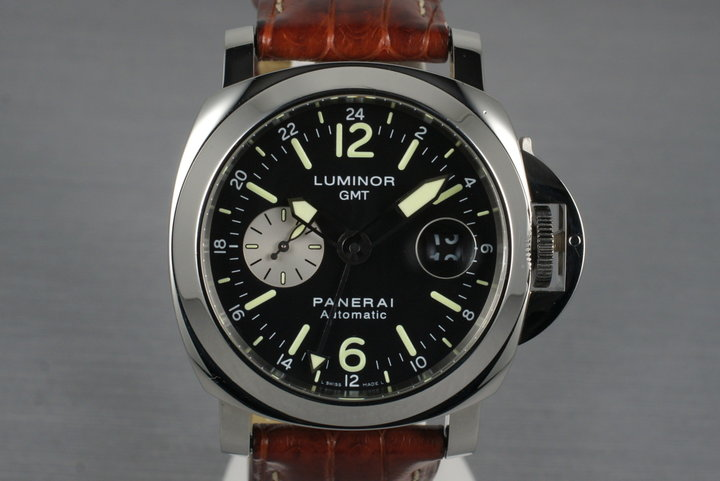 2007 Panerai PAM 88 GMT with Box photo