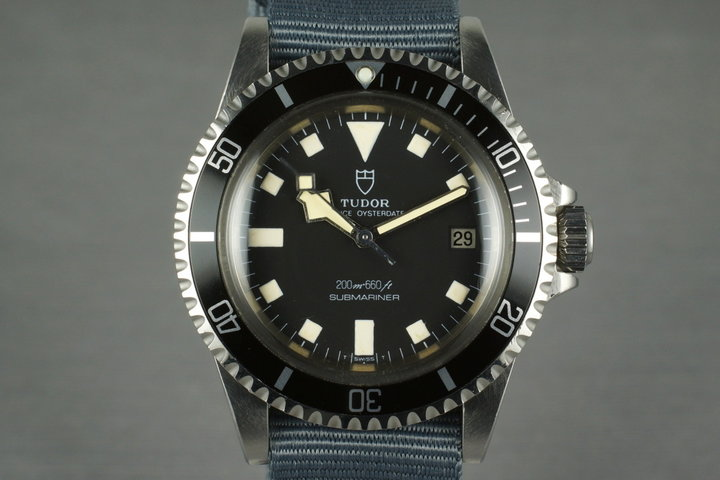 1979 Tudor Submariner 94110 Snowflake photo