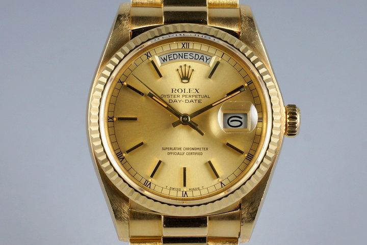 1980 Rolex YG Day-Date 18038 photo