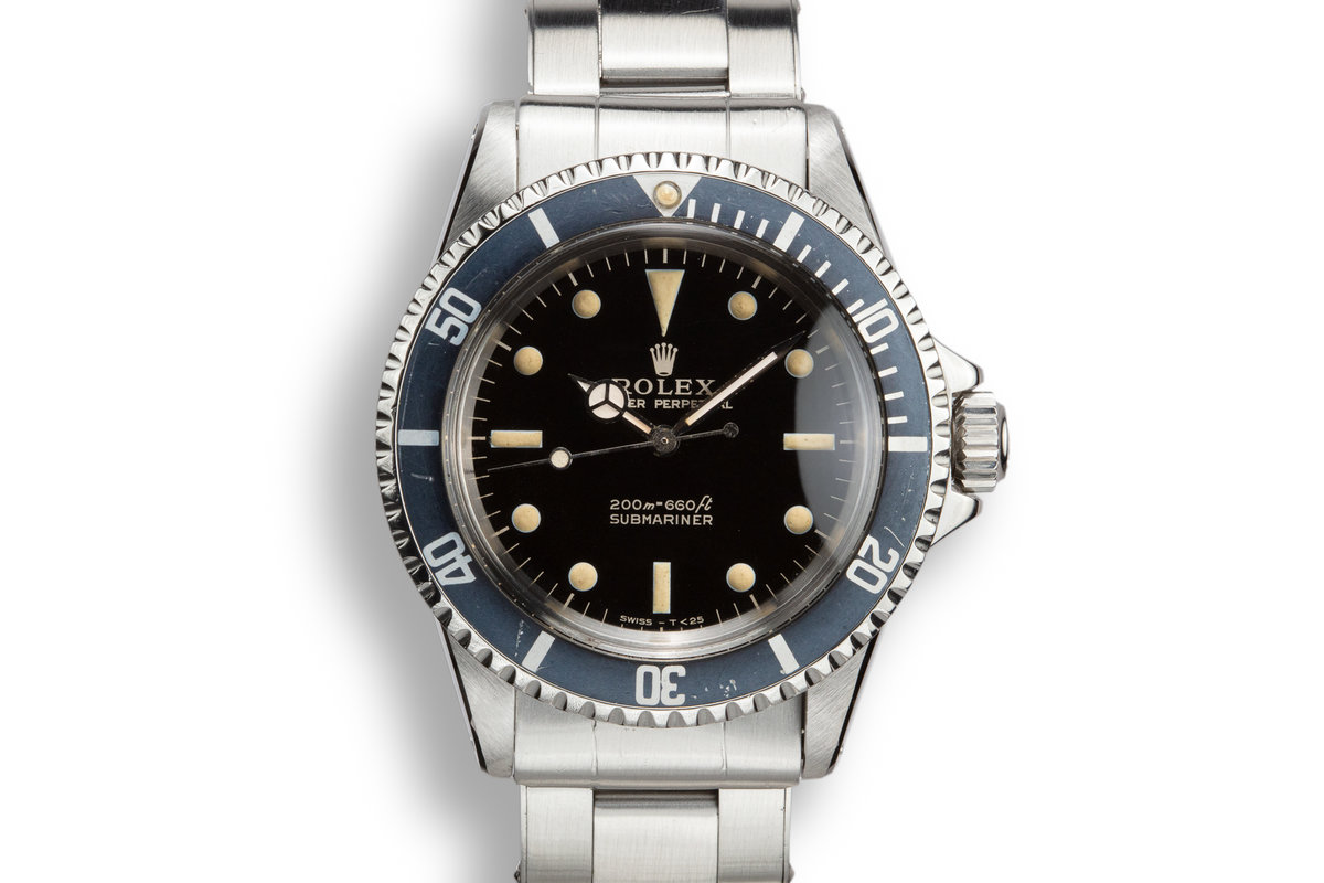 1966 Rolex Submariner 5513 Gilt Dial photo, #0