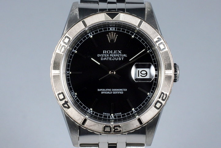 2002 Rolex DateJust 16264 Thunderbird photo