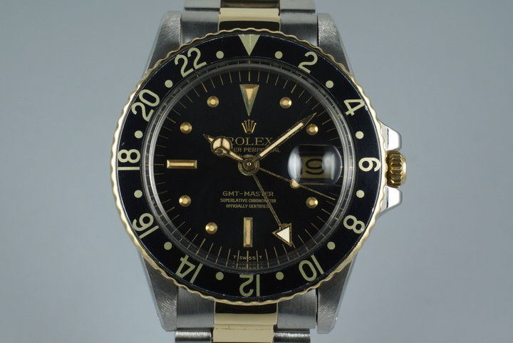1979 Rolex Two Tone GMT 1675 photo