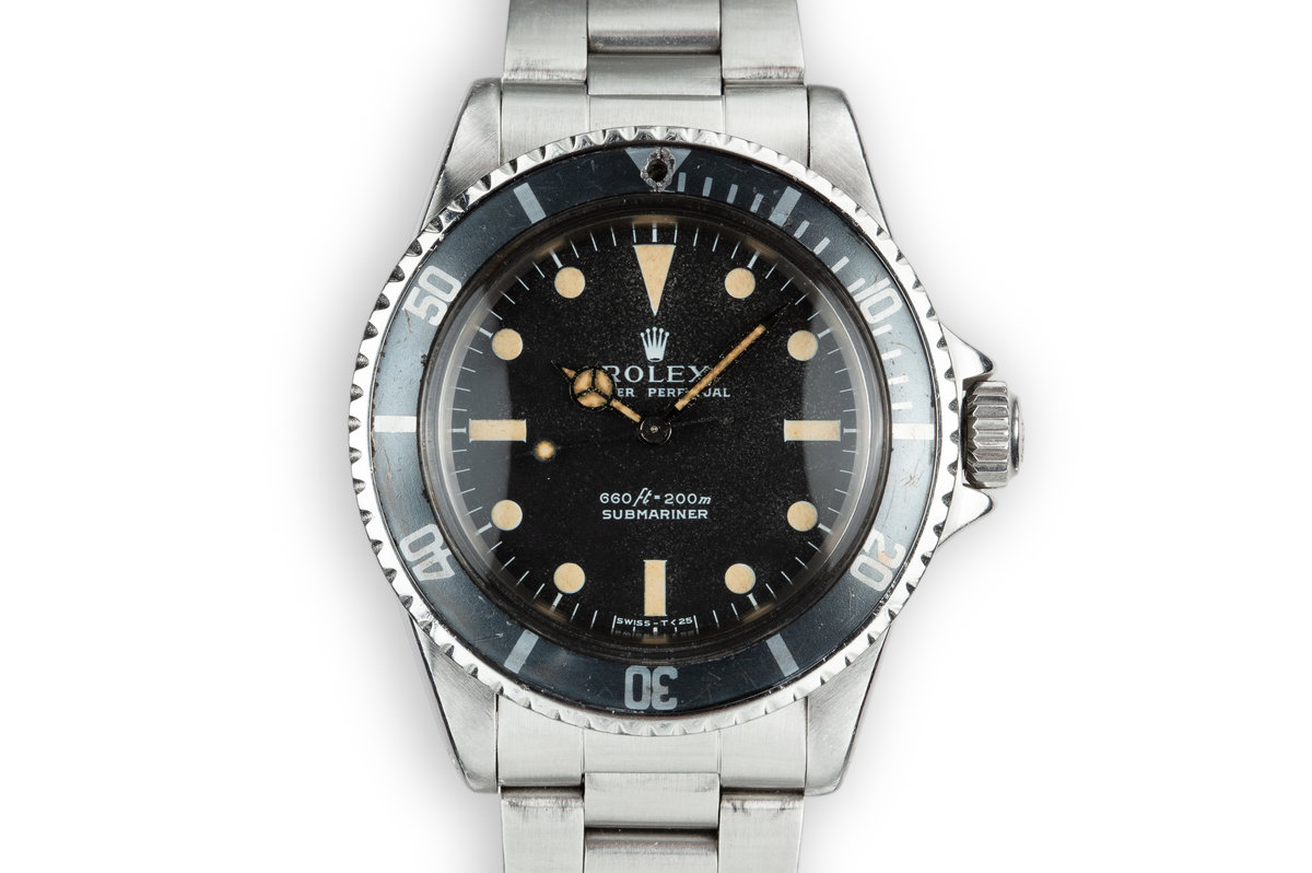 1965 Rolex Submariner 5513 Serif Dial photo, #0