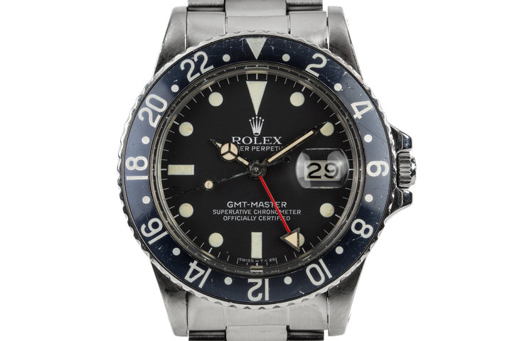 1979 Rolex GMT-Master 16750 with Faded Black Insert photo
