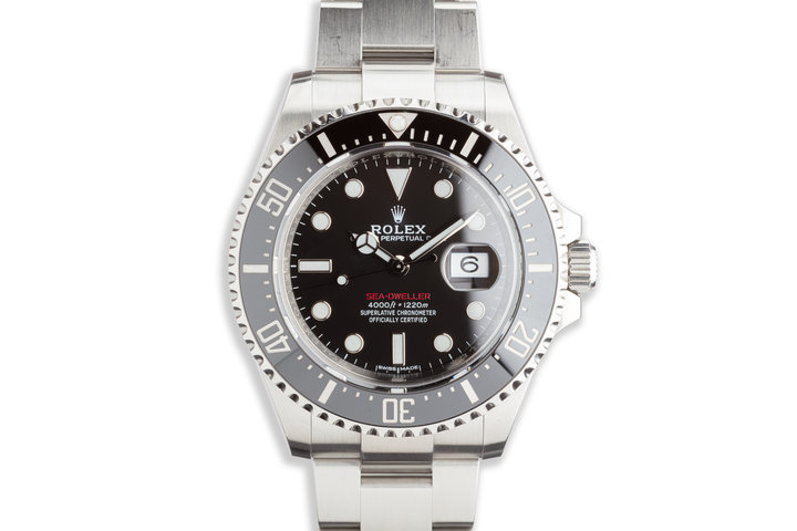2017 Rolex Red Sea-Dweller 126600 MK I Dial with Box and Card photo