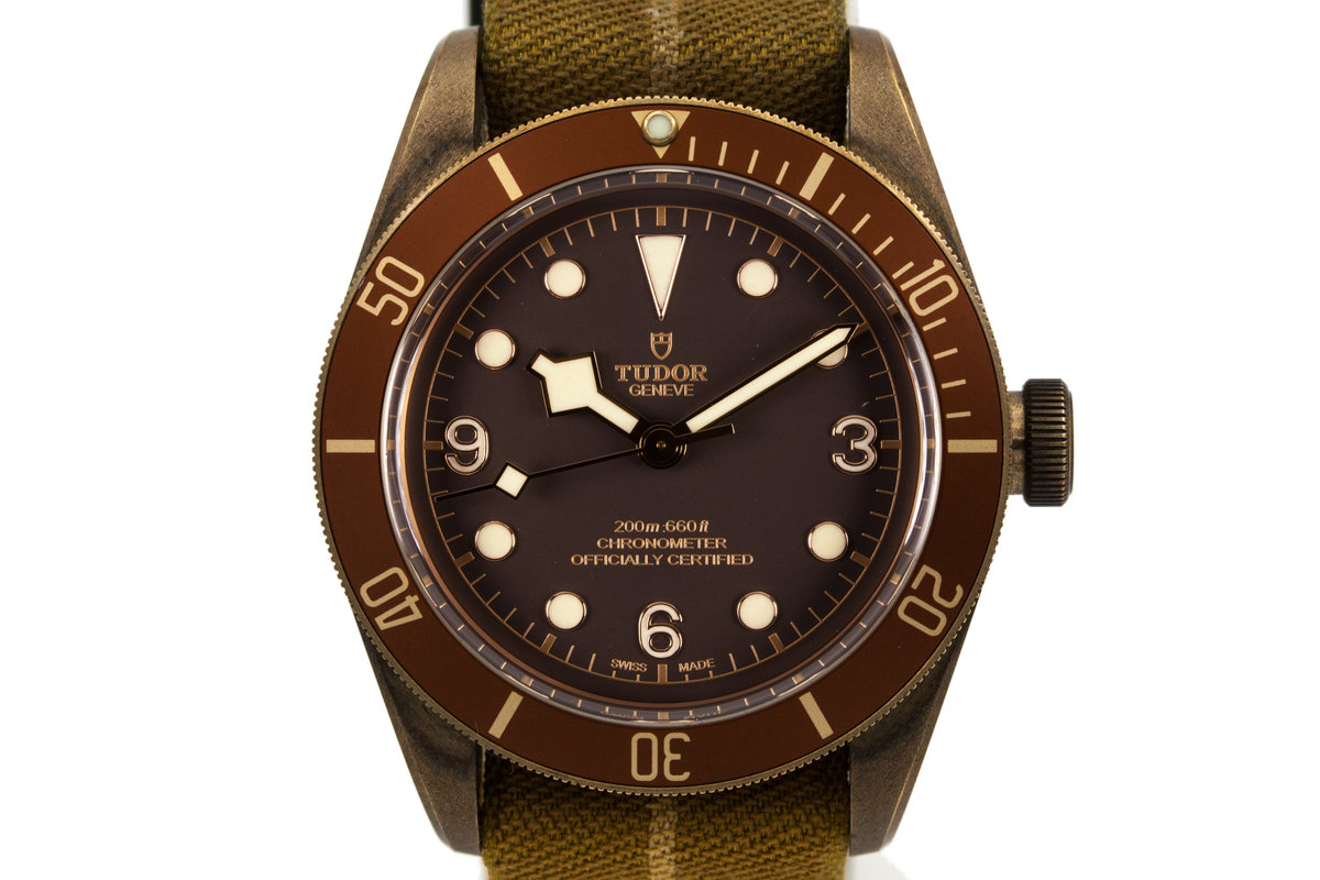 2016 Tudor Bronze Case Black Bay with Box and Papers photo, #0