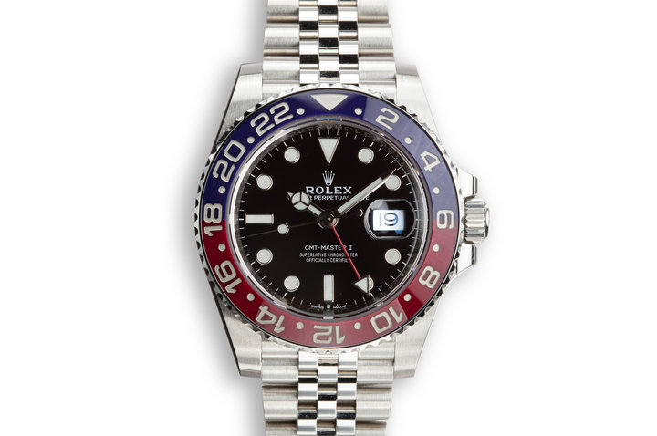 "2018 Rolex GMT-Master II 126710 BLRO MK I ""Violet"" Bezel with Box and Papers photo"