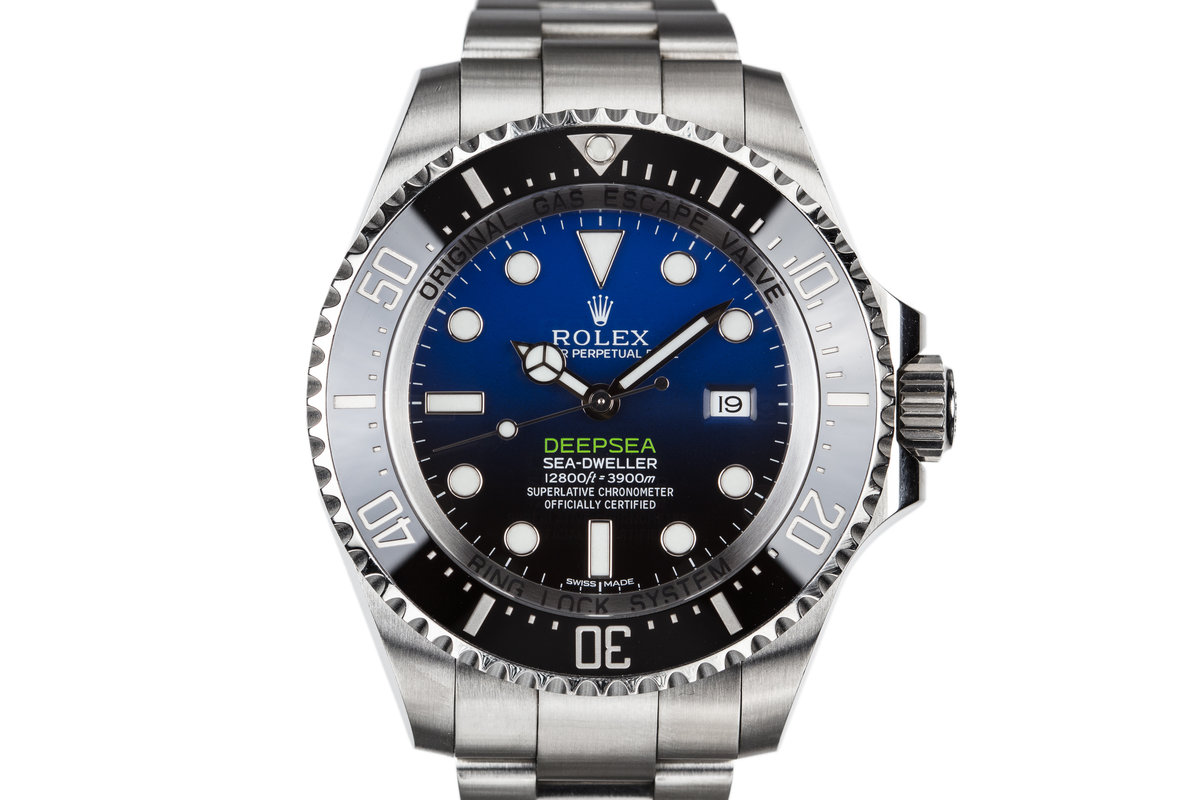 2015 Rolex Deep Sea-Dweller 116660 with Box and Papers photo, #0