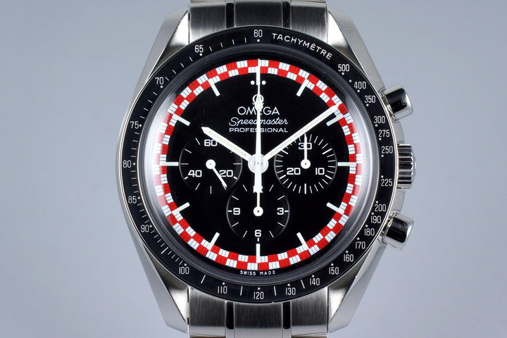 2013 Omega Speedmaster 311.30.42.30.01.004 Racing 'Tin Tin' Dial with Box and Card photo