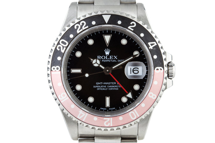 2000 Rolex GMT II 16710 photo