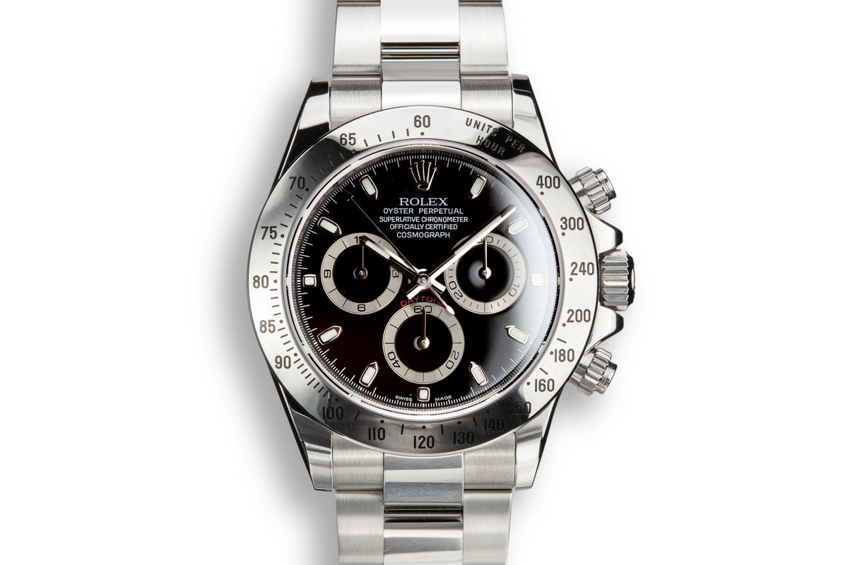 2009 Rolex Daytona 116520 Black Dial with Box and Papers photo, #0