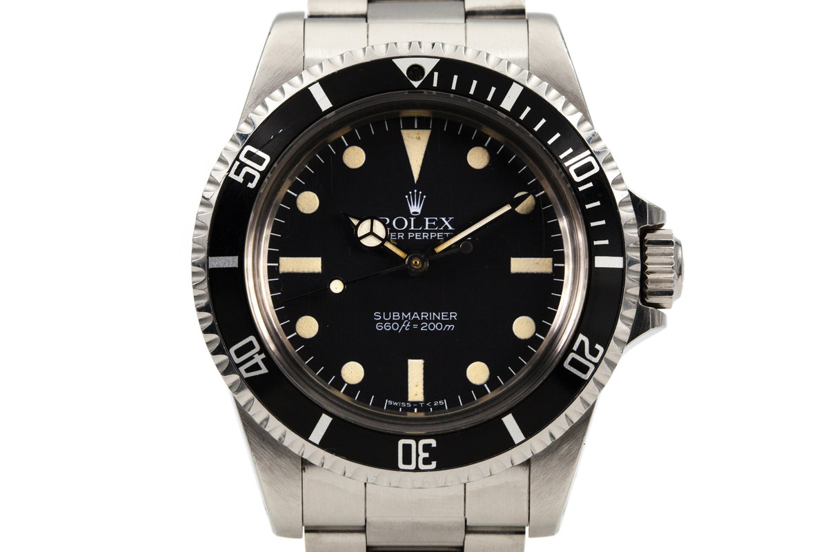 1983 Rolex Submariner 5513 Mark V Maxi Dial photo, #0