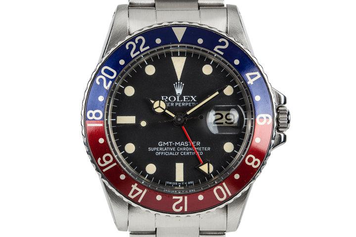 1971 Rolex GMT-Master 1675 with Service Papers photo