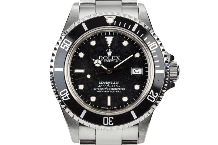 """1986 Rolex Sea-Dweller 16660 with """"Stardust"""" Dial photo"""