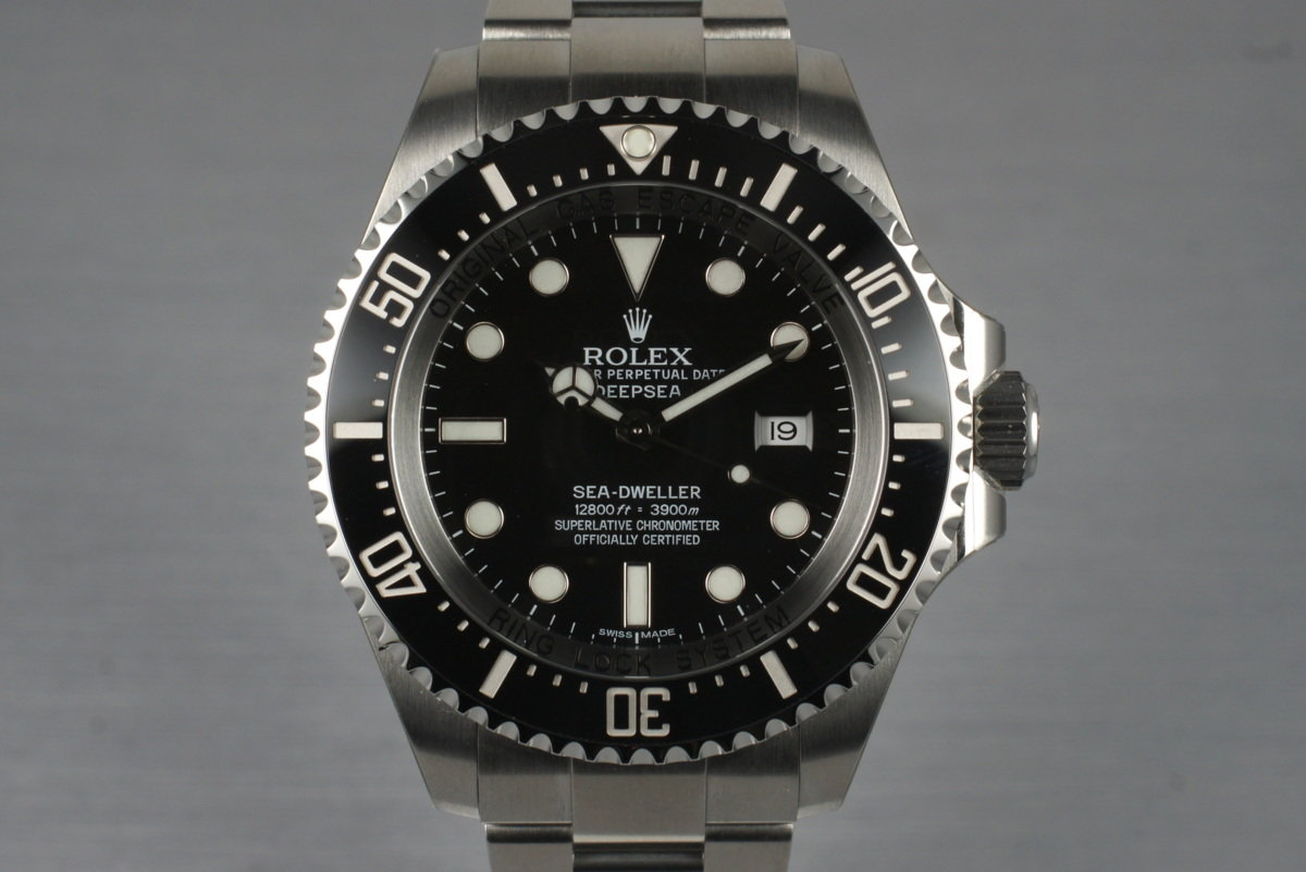 2010 Rolex Deep Sea Dweller 116660 with Box and Papers photo, #0