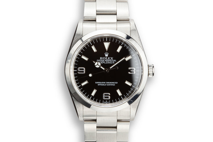 "1998 Rolex Explorer 14270 ""SWISS"" Only Dial photo"