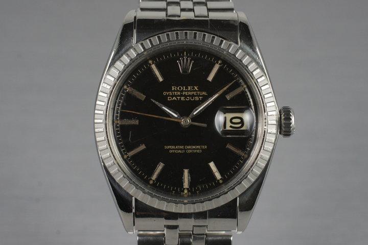1964 Rolex DateJust 1603 Glossy Gilt Dial photo