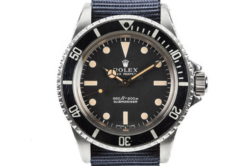 1972 Rolex Submariner 5513 with Serif Dial photo