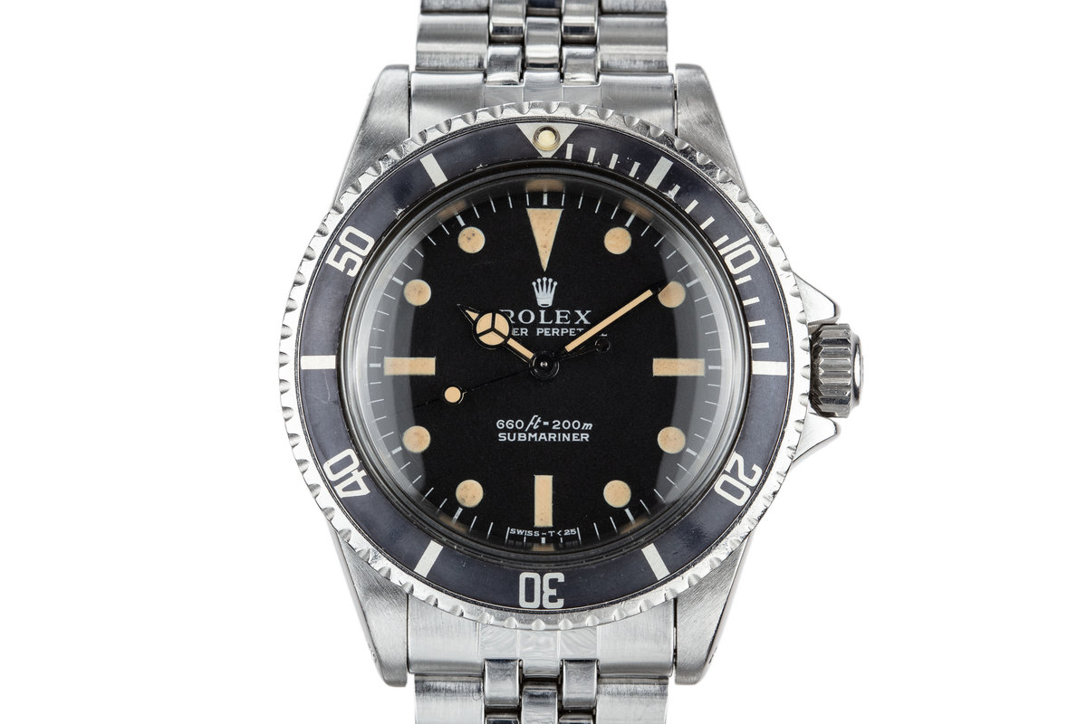 1970 Rolex Submartiner 5513 with Box and Papers photo, #0