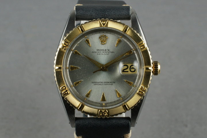 1962 Rolex Two Tone DateJust 1625 Thunderbird photo