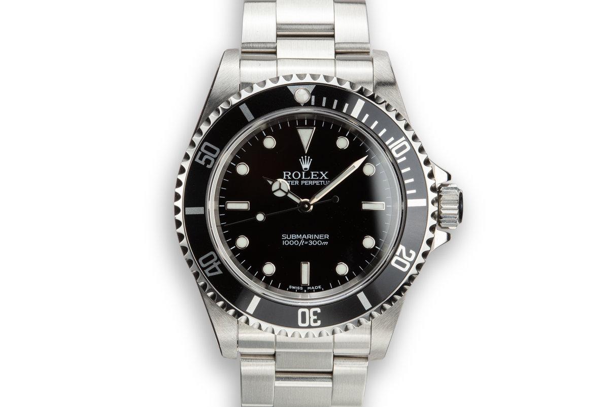 2002 Rolex Submariner 14060 photo, #0