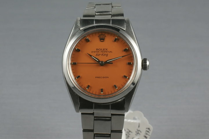 Rolex Orange Refinished Dial Zepher Ref: 1008 photo