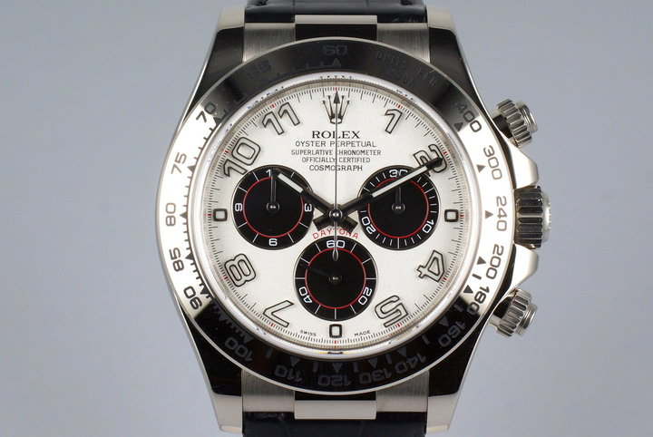 2015 Rolex WG Daytona 116519 with Box and Papers photo