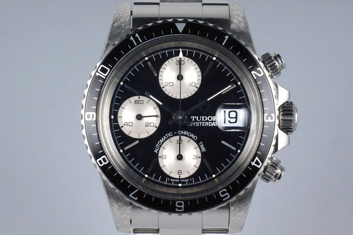 1995 Tudor Chronograph Big Block 79170 Black Dial with Box and Papers photo