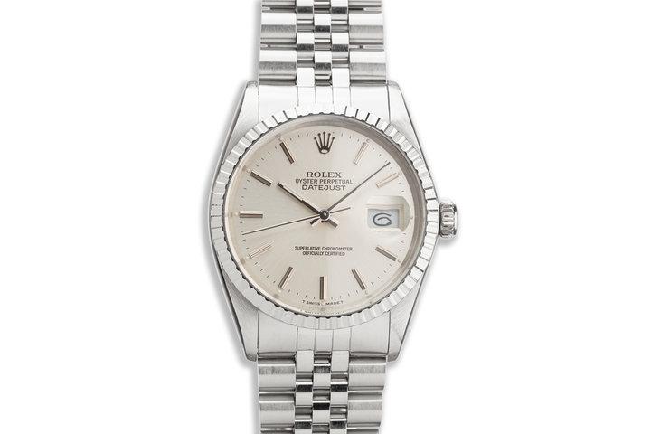 1979 Vintage Rolex DateJust 16030 Silver Dial photo