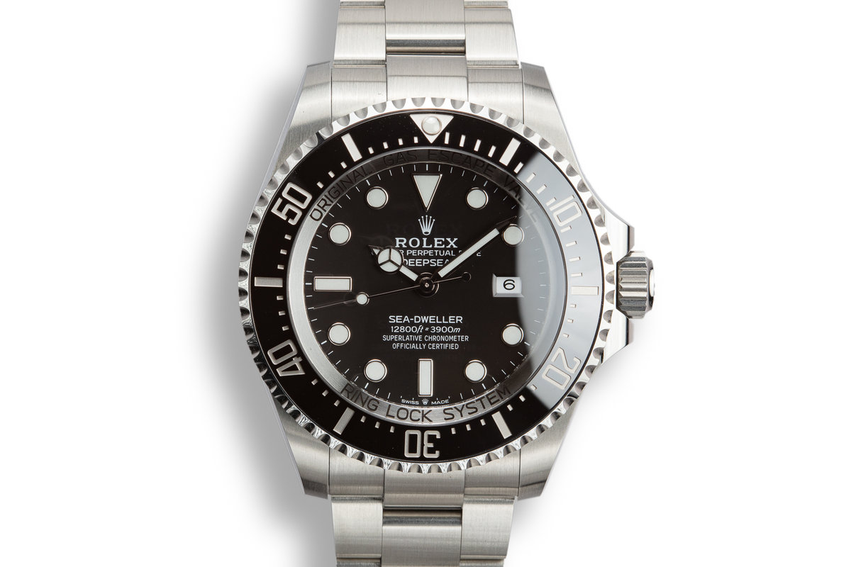 2018 Rolex Deep Sea-Dweller 126660 with Box and Papers photo, #0
