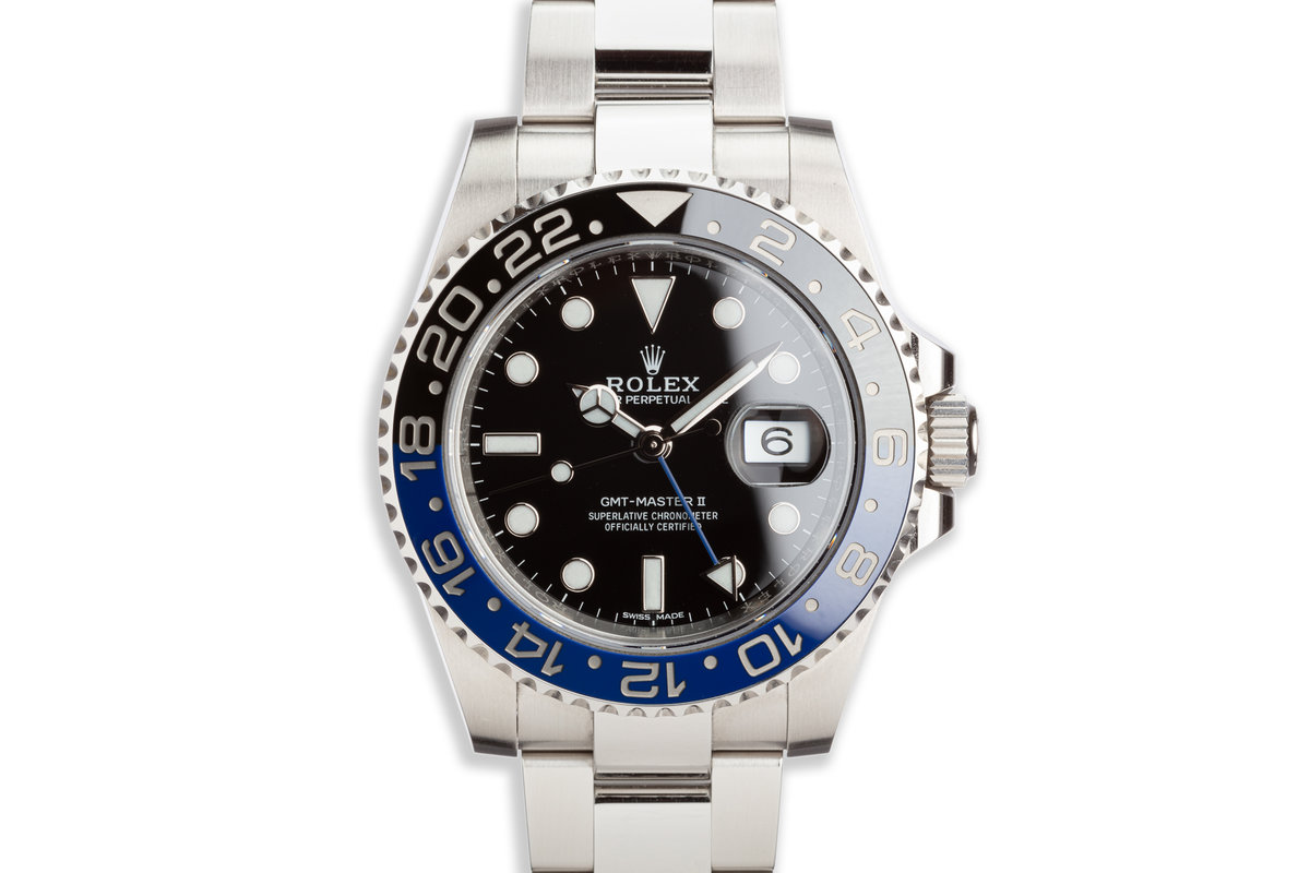 """2017 Rolex GMT-Master II 116710BLNR """"Batman"""" with Box and Card photo, #0"""